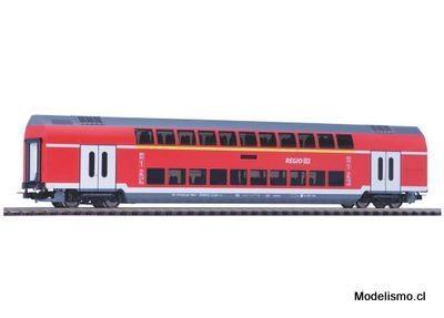 Piko H0 58804 Vagón de dos pisos de 1ª / 2ª clase DB Regio