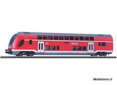 Piko H0 58805 Control vagón de dos pisos 2da clase DB Regio