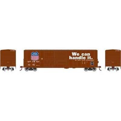 Athearn RTR 26698 H0 50' FMC Combo Door Box, Union Pacific #170431