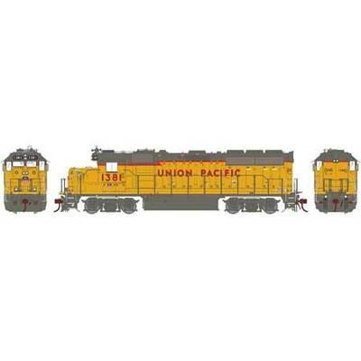 Athearn Genesis 65669 H0 GP40-2, Union Pacific #1381