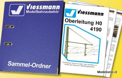 Viessmann 4190 H0 Libro de catenaria (alemán)