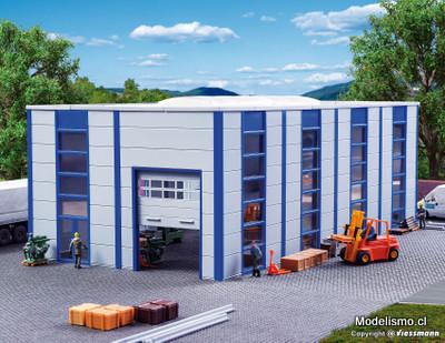 Reserva anticipada Kibri 39250 H0 Bodega / nave industrial, moderna