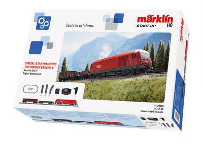 """Märklin 29020 Caja de iniciación en digital """"Austria Época V"""". 230 voltios."""
