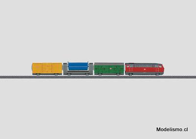 """Märklin 29210 my world Caja de iniciación """"Tren de mercancías""""."""
