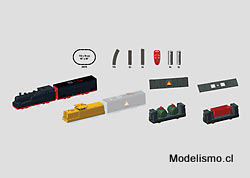 """Märklin 29270 my world Caja de iniciación """"Kit de construcción de vagón de mercancías"""". (Batería)"""