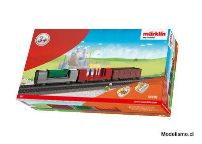 Märklin 44100 my world Set de vagón complementario para el tren de mercancías.