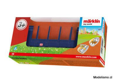 Märklin 44104 my world Vagón con teleros.