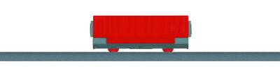 Märklin 44272 my world Vagón para mercancías abierto (Click and Mix).