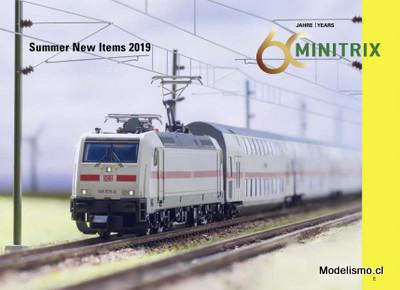 Minitrix noticias de verano 2019