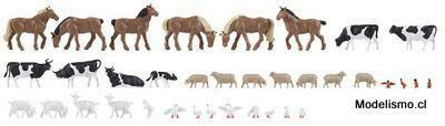 Faller 150938 36 animales en la granja