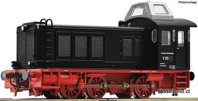 Roco H0 73069 - Locomotora diésel serie V 36 con sonido