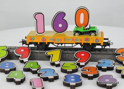 Märklin H0 44231 Märklin Start up – Vagón de Feliz Cumpleaños