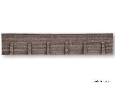 Noch 58275 Muro de contención, extralargo, 66 x 12,5 cm.