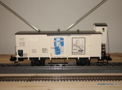 Märklin 85837 vagone Kölln con camion MHI