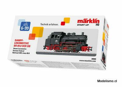 Reserva anticipada Märklin 30000 Locomotora de vapor BR89