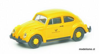 452640300 VW Escarabajo Deutsche Post, amarillo