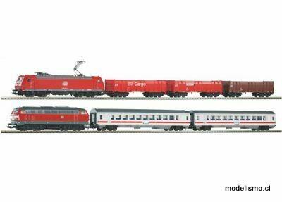 Piko H0 59013 SmartControl light 2 trenes s-Set DB AG w.Railbed