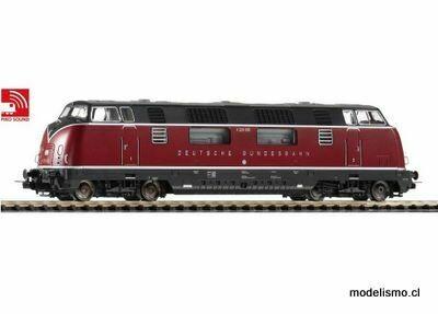 Piko H0 59709 ~ V 200.050 Diesel DB III Sonido para Märklin