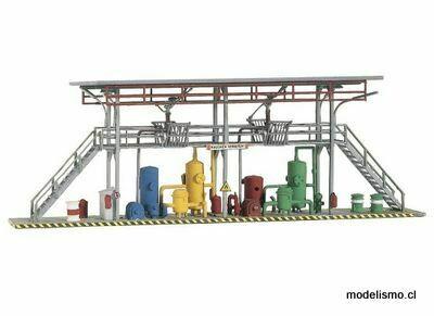 Piko H0 61105 Estantes de llenado de estaciones de tanques