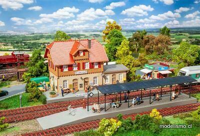 Faller 190072 Set promocional de la estación de Bruderstadt