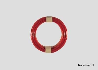Märklin 7105 cables rojo 10m 0,75 mm2