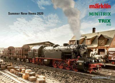 Catálogo de verano Märklin 2020 en inglés