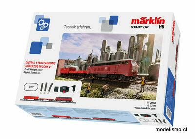 """Märklin 29060 Caja de iniciación en digital """"Tren mercancías de la Época V"""""""