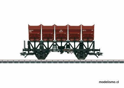 Märklin 46355 Vagón volquete de cuba Ommi 51