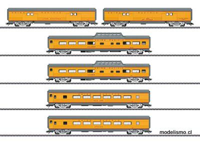 Märklin 43617 Set de coches de viajeros