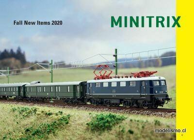 Minitrix Nuevos artículos de otoño 2020