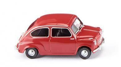 reserva anticipada Wiking 009904 H0 Fiat 600 rojo