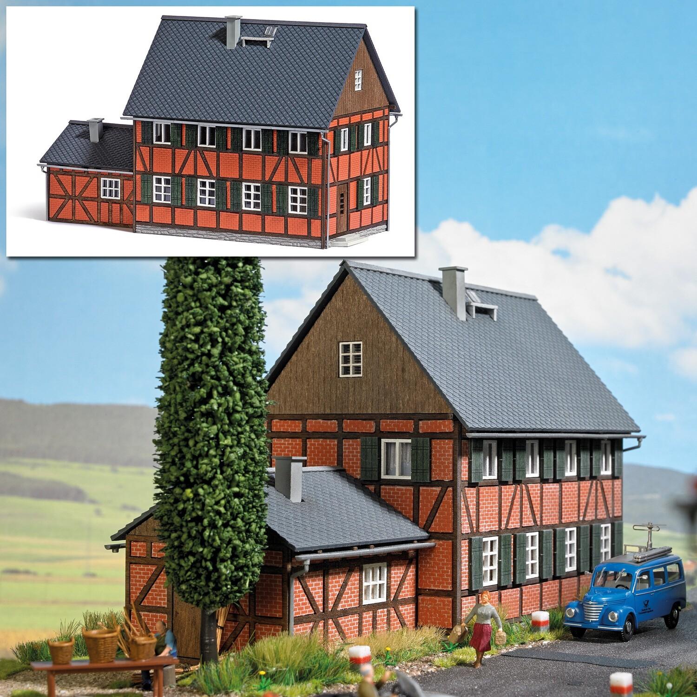 reserva anticipada Busch H0 1657 Casa con ampliación