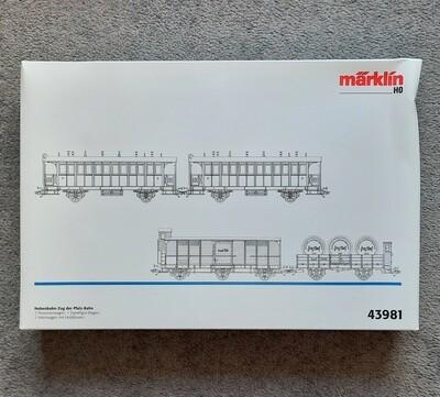 Märklin H0 43981 Ramal de tren de Pfalz-Bahn usado
