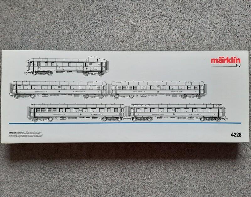 Märklin H0 4228 Rheingold usado