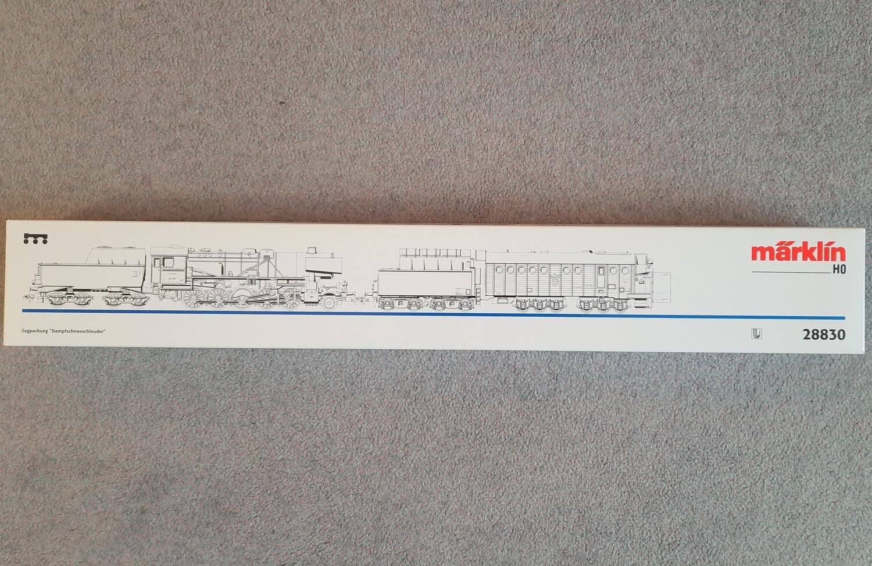 Märklin H0 28830 Paquete de locomotoras - soplador de nieve a vapor usado