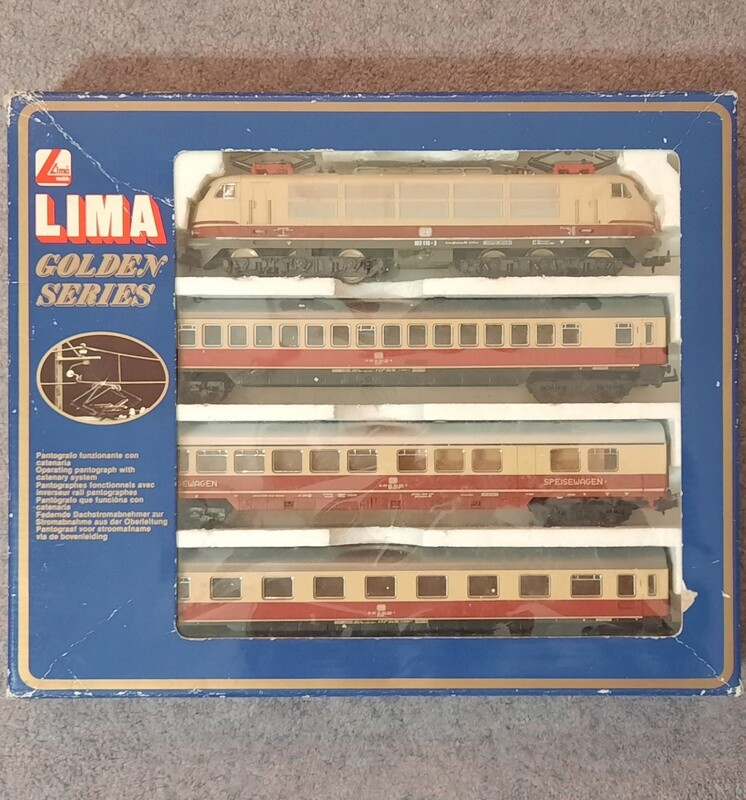 Lima 149728 BR103 Rheingold CC para Märklin usado