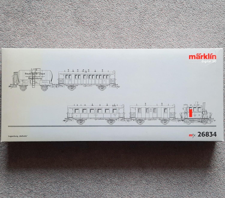 "Märklin H0 26834 Conjunto de tren ""Walhalla"" usado"