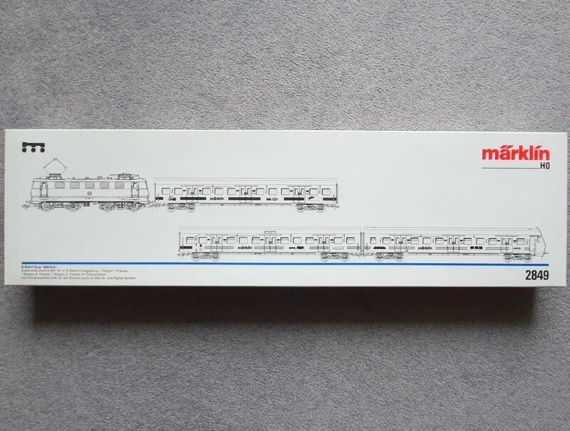 Märklin H0 2849 Conjunto de tren S-Bahn