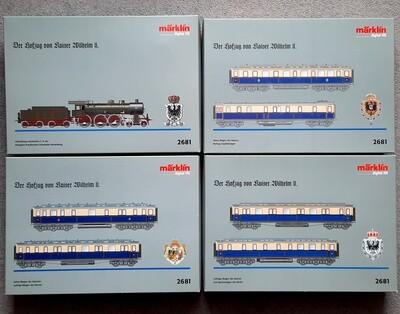 Märklin H0 2681 Tren de la corte