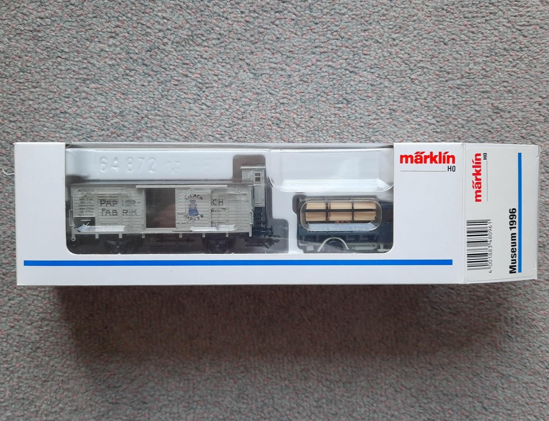 Reserva anticipada Märklin H0 Museum 1996 usado