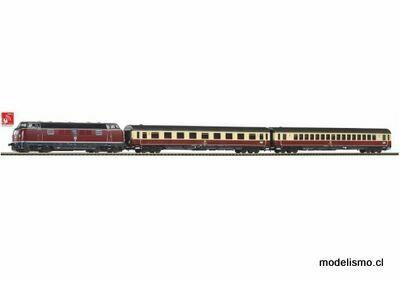 Piko H0 58142 Juego de trenes locomotora diésel con sonido