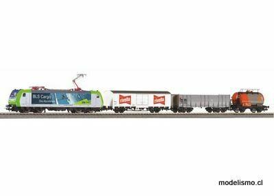 Reserva anticipada Piko H0 59028 PIKO SmartControllight Set con riel de cama Tren de mercancías BLS