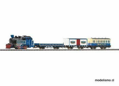 """Piko H0 57142 StartSet con cama de vía """"Roncalli"""" R / C tren de mercancías"""