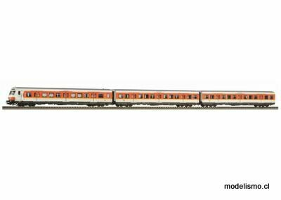 Piko H0 58388 Conjunto de 3 x-cars S-Bahn Nuremberg con coche de control DB IV