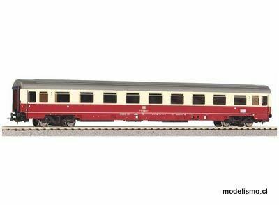 Piko H0 58530 Coche de pasajeros del tren expreso Eurofima, 1ra clase, DB IV