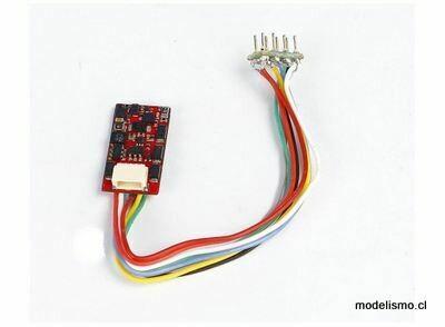 Piko 56403 PIKO SmartDecoder 4.1 de 8 pines con interfaz SUSI, multiprotocolo