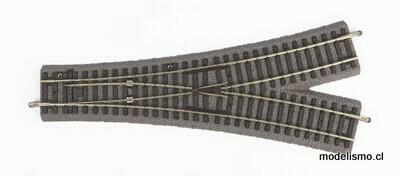 Piko H0 55426 Interruptor en Y WY con ropa de cama