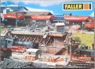 Reserva anticipada - Faller H0 120156 Plataforma de caída de carbón