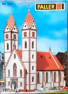 Reserva anticipada - Faller H0 905 Iglesia de la ciudad