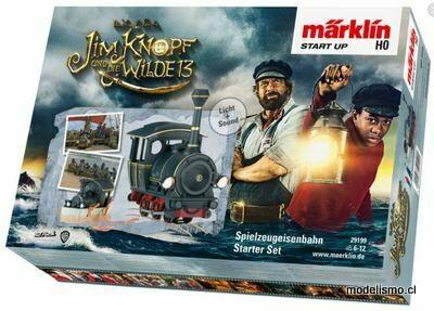 """Märklin 29199 H0 Märklin Start up - Caja de iniciación """"Jim Knopf"""""""